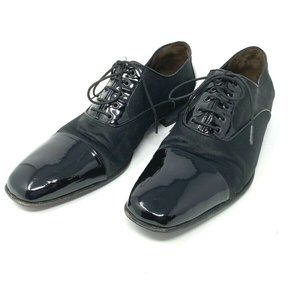 Jean Pierre Mens Two Tone Patent Leather Shoes